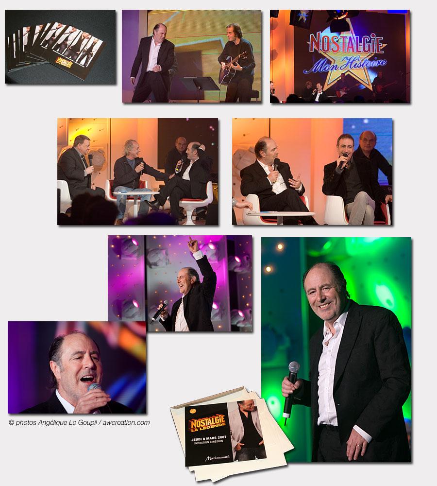 Michel Delpech - 8 mars 2007 - Mon Histoire - Nostalgie