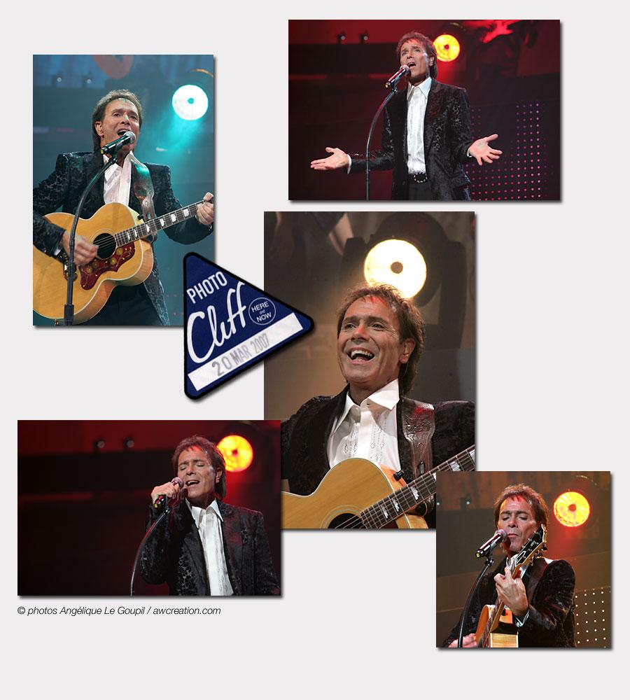 Cliff Richard - 20 mars 2007 - Palais des Congrès de Paris
