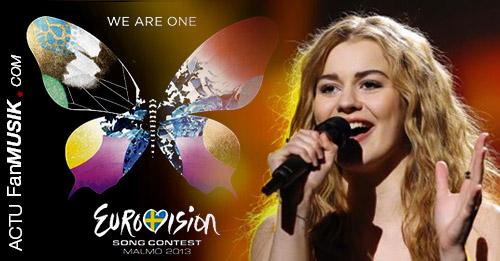 """Le Danemark remporte l'Eurovision avec Emmelie de Forest """"Only Teardrops"""""""