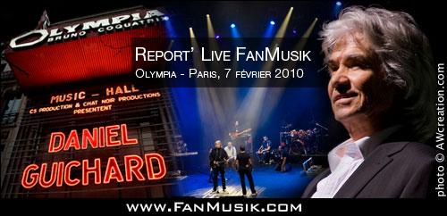 Daniel Guichard - 7 février 2010 - l'Olympia, Paris