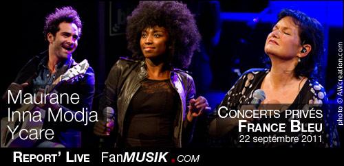 Les concerts Privés de France Bleu - 22 septembre 2011 - Radio France, Paris
