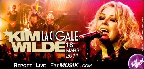Kim Wilde - 18 mars 2011 - La Cigale, Paris