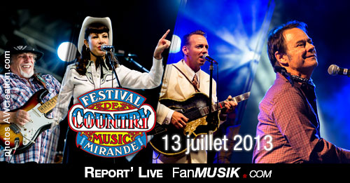 Festival de Country Music – 13 juillet 2013 – Mirande