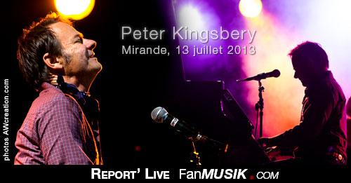 Peter Kingsbery, Festival de Country Music – 13 juillet 2013 – Mirande