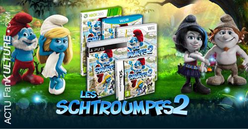 Les Schtroumpfs 2 en jeu vidéo par Ubisoft