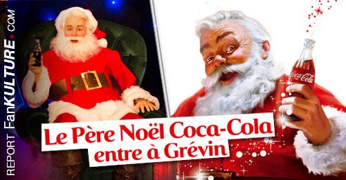 Le Père-Noël Coca-Cola est entré au Musée Grévin le 20 novembre 2013