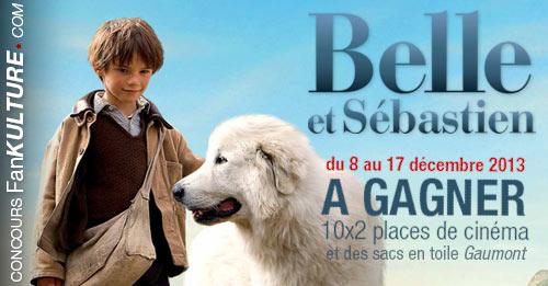 Gagnez 2 places de cinéma pour le film Belle et Sébastien sur FanKulture !