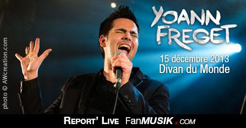 Yoann Fréget - 15 décembre 2013 - Divan du Monde, Paris