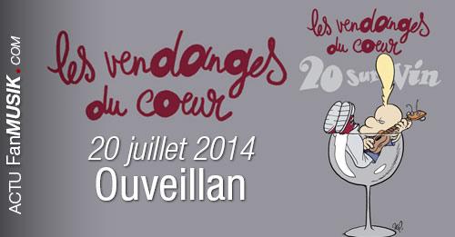 Les Vendanges du Coeur fêtent leur 20 ans avec Jean-Jacques Goldman et de nombreux autres Artistes !