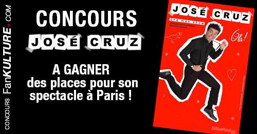 Gagnez des places pour le spectacle Olà de José Cruz à Paris !