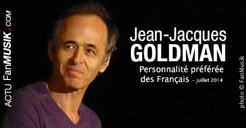 Jean-Jacques Goldman, toujours la personnalité préférée des Français !