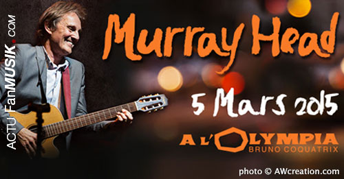 Murray Head, le 5 mars 2015 à l'Olympia