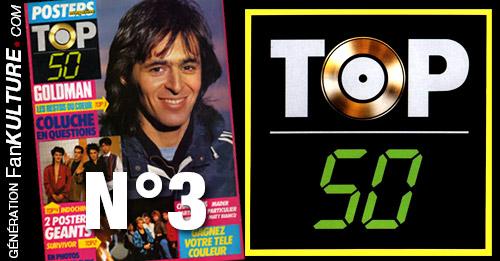 TOP 50 - N°3 - 24 mars 1986
