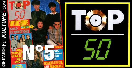 TOP 50 - N°5 - 7 avril 1986