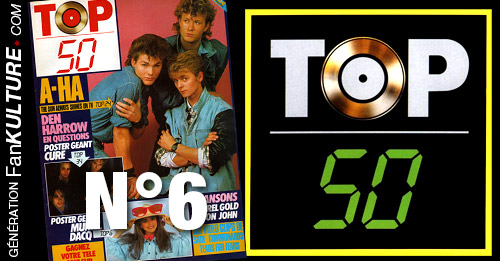 TOP 50 - N°6 - 14 avril 1986