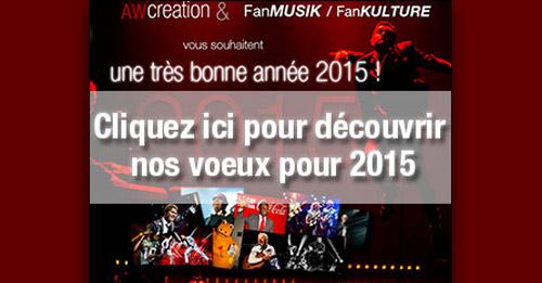 Une très bonne année 2015 !