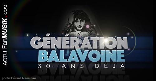 Génération Balavoine - 30 ans déjà... le 9 janvier 2016, en direct sur TF1