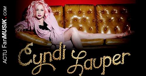 Cyndi Lauper le 11 juillet au Grand Rex à Paris !
