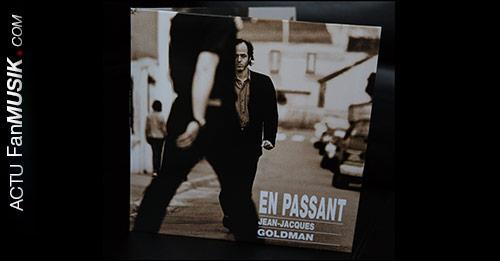 """Vinyle : 20 ans de l'album """"En passant"""" Jean-Jacques Goldman"""