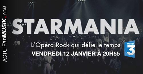 Starmania : L'opéra rock qui défie le temps le 12 janvier à 20h55 sur France 3
