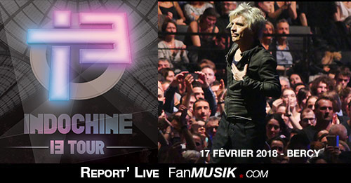 Indochine, 17 février 2018 - Paris