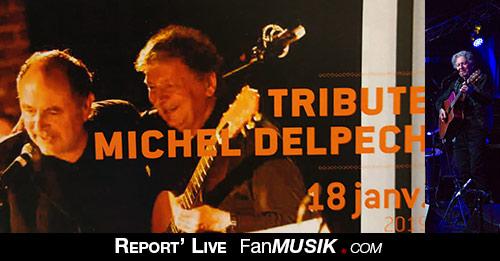 Tribute Michel Delpech, 18 janvier 2019, Enghien-les-Bains