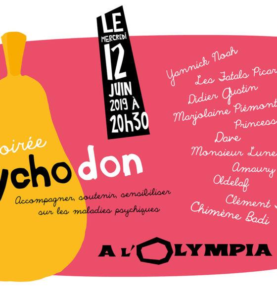 Psychodon le 12 juin 2019 à l'Olympia !