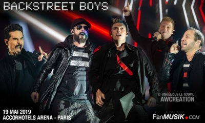 Backstreet Boys, 19 mai 2019, Accorhotels Arena, Paris