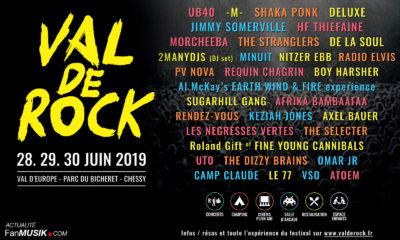 Val de Rock Festival les 28, 29 et 30 juin 2019 !