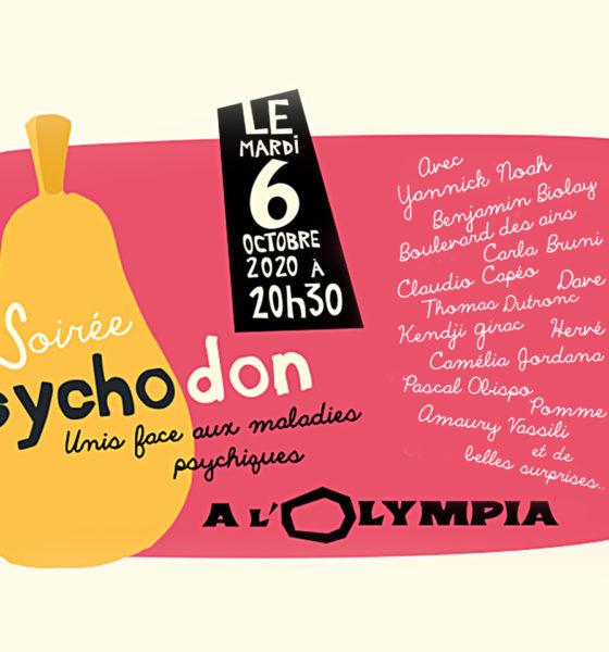 Psychodon, le 6 octobre 2020 à l'Olympia !