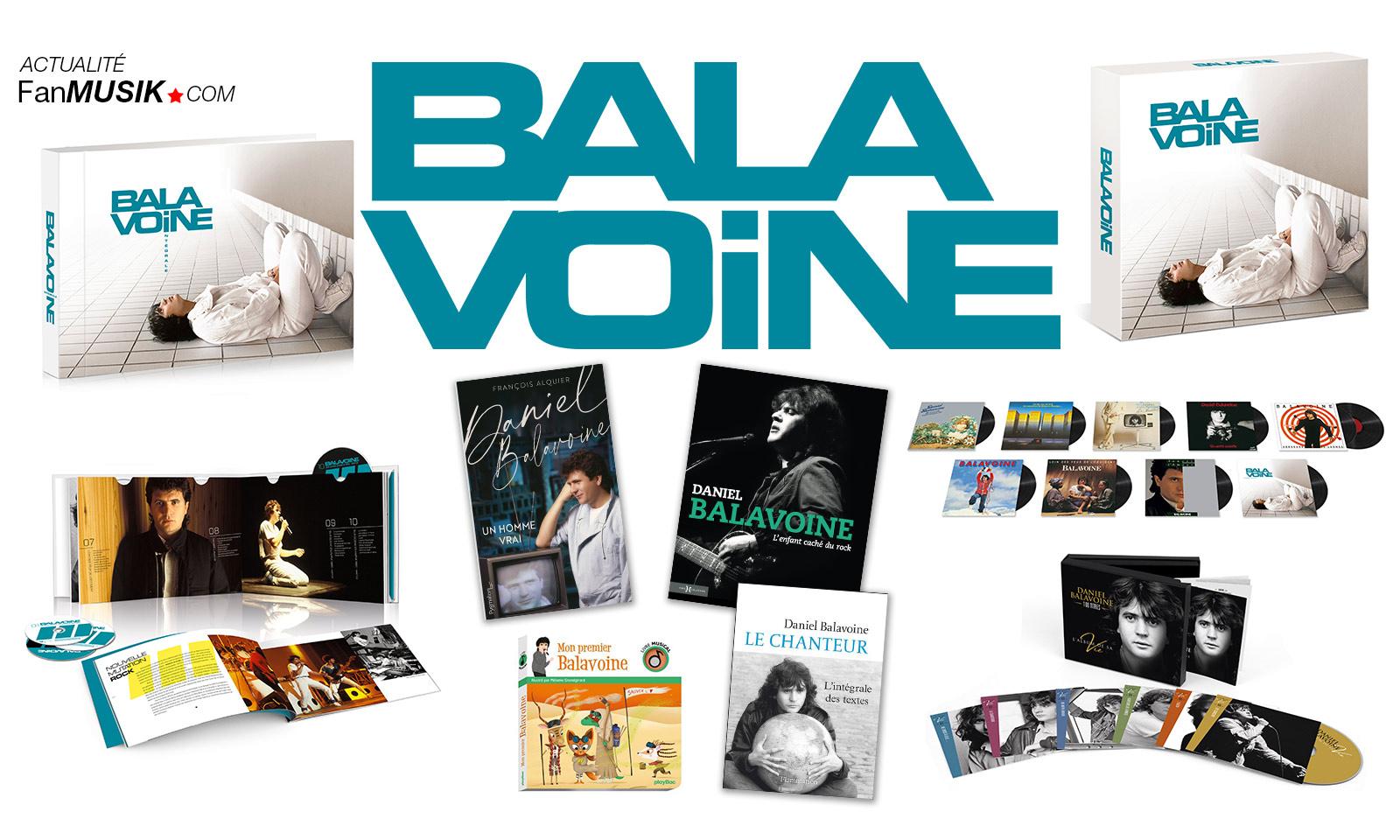 Daniel Balavoine : chanson inédite, intégrale CD, vinyles, livres... pour les 35 ans de sa disparition.