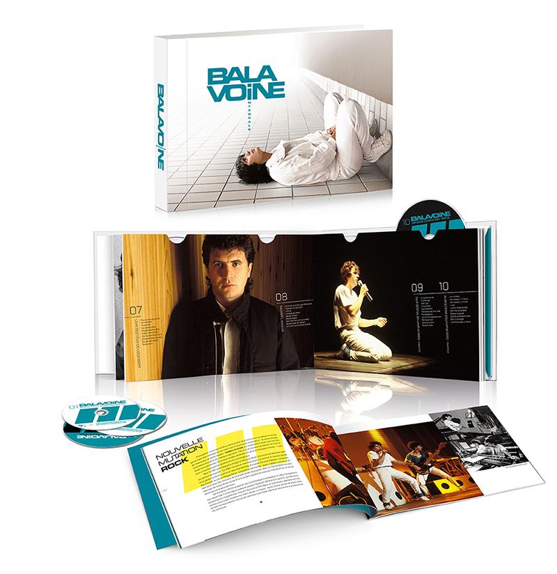 Daniel Balavoine Intégrale 16 CD 2020