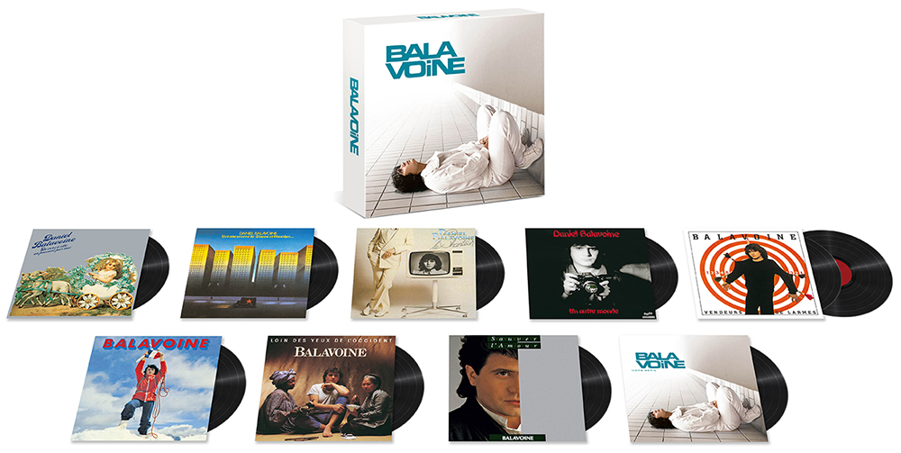 Daniel Balavoine Coffret Vinyle