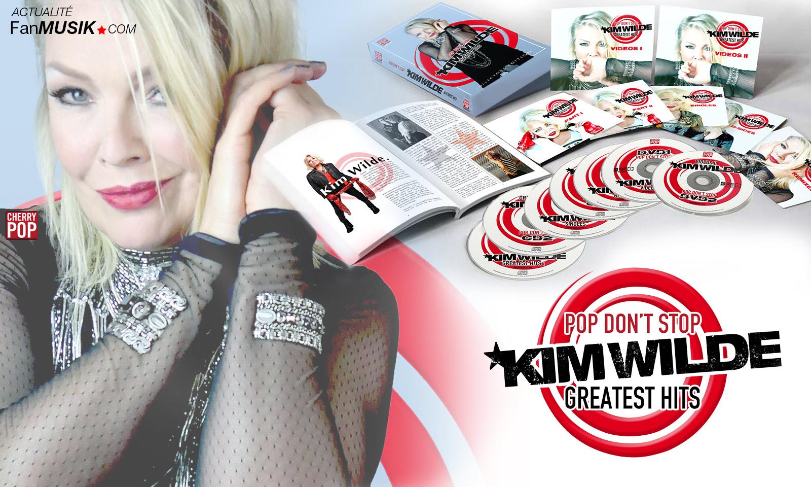 Kim Wilde : un Coffret Deluxe le 6 août : Pop don't stop : Greatest Hits !