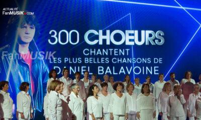 300 choeurs chantent les plus belles chansons de Daniel Balavoine