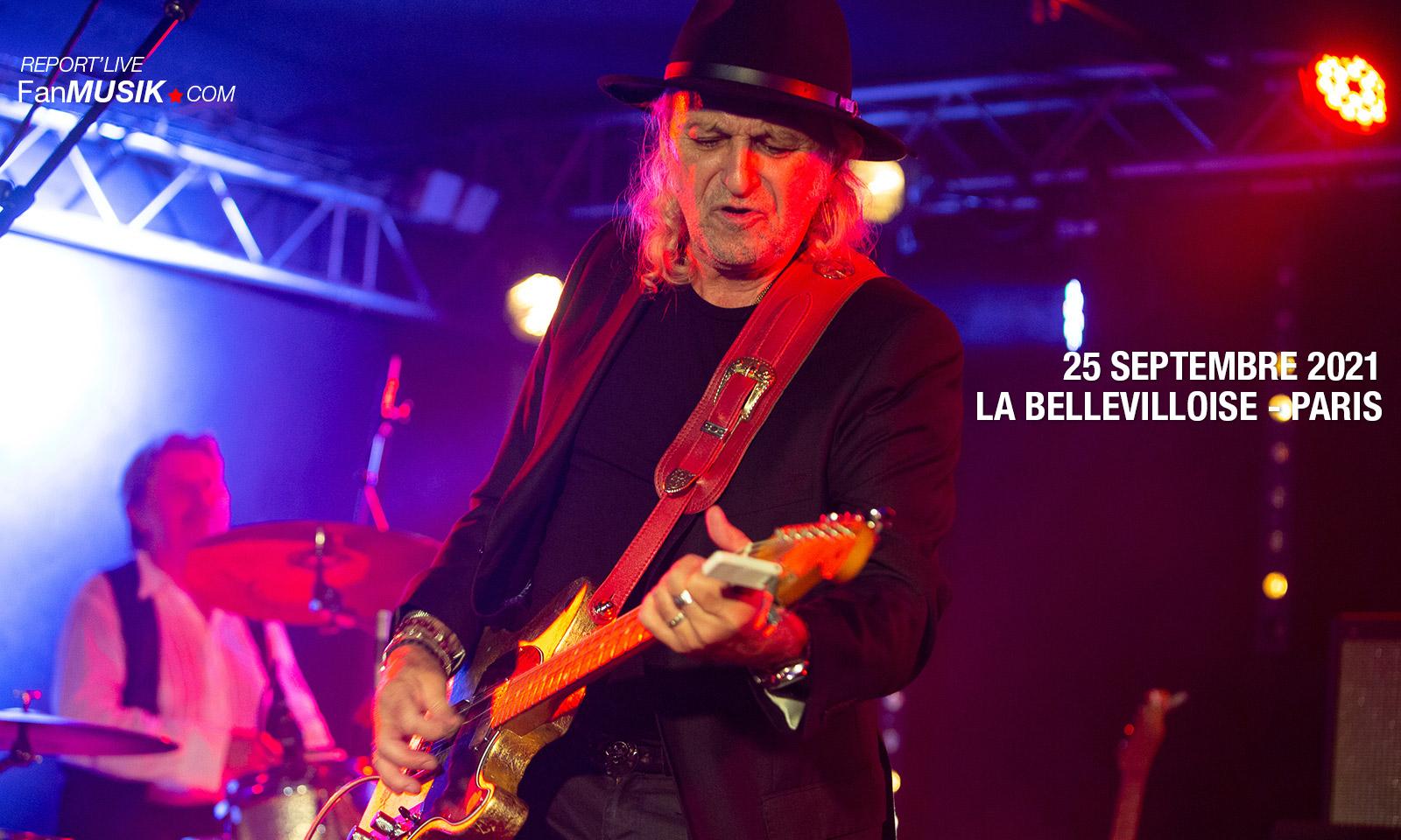 Patrick Coutin, 25 septembre 2021 à La Bellevilloise, Paris