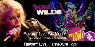 Kim Wilde – 8 avril 2009 – La Cigale, Paris