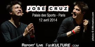 José Cruz – 12 avril 2014 – Palais des Sports, Paris