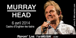 Murray Head - 6 avril 2014 - Casino, Enghien-les-Bains