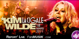 Kim Wilde – 18 mars 2011 – La Cigale, Paris